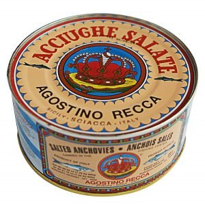 Agostino Recca Salted Whole Anchovies