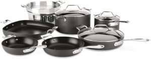 All Clad Essentials Nonstick Cookware Set