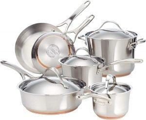 Anolon Nouvelle 10 Piece Cookware Set