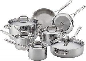 Anolon Tri Ply Clad 12 Piece Cookware Set