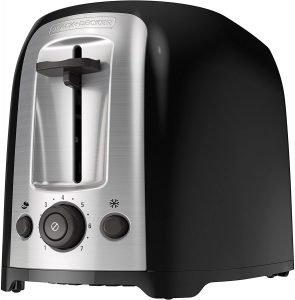 Black+decker 2 Slice Extra Wide Slot Toaster