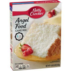 Betty Crocker Super Moist Fat Free Cake Mix Angel Food