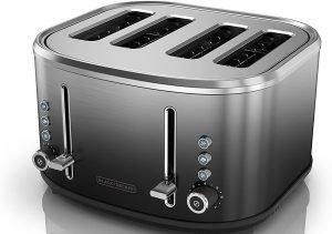 Black And Decker Tr4310fbd 4 Slice Toaster
