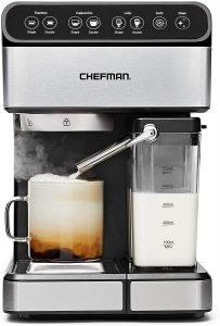 Chefman 6 In 1 Espresso Machine