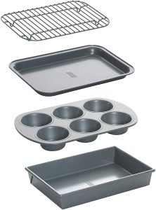 Chicago Metallic Non Stick Carbon Steel Bakeware Set