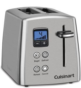 Cuisinart Cpt 415 Countdown 2 Slice Stainless Steel Toaster