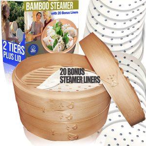 Cuisine Natural Bamboo Steamer