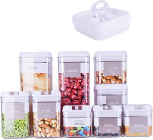 Dragon 10 Piece Air Tight Containers