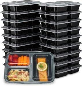 Ez Prepa 3 Compartment Bento Box