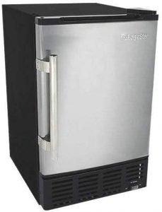 Edgestar Ib120ss Refrigerator With Built In Ice Maker