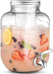 Finedine Glass Beverage Dispenser