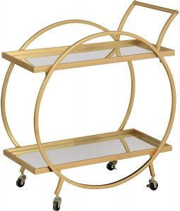 Firstime & Gold Odessa Bar Cart