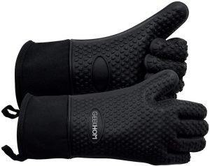 Geekhom Grilling Gloves, Heat Resistant Bbq Gloves