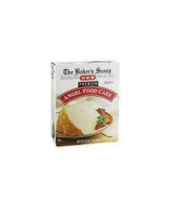 H‑e‑b Baker's Scoop Premium Fat Free Angel Food Cake Mix