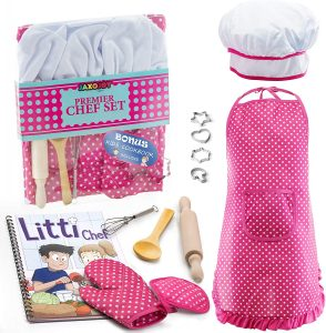 Jaxjoy Complete Kids Cooking And Baking Set