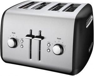 Kitchen Aid Kmt41150b 4 Slice Toaster