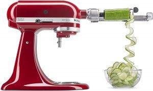 Kitchenaid Spiralizer Attachment Corer, Slicer, Peeler