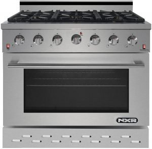 Nxr Sc3611 36 Inch Professional Style Gas Range
