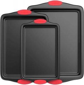 Nutrichef Kitchen Oven Carbon Steel Bakeware Set