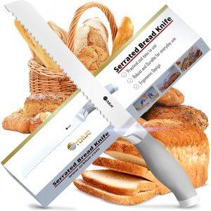 Orblue Ultra Sharp Serrated Bread Knife