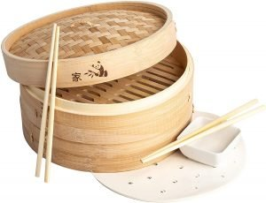 Prime Home Direct Bamboo Steamer Basket