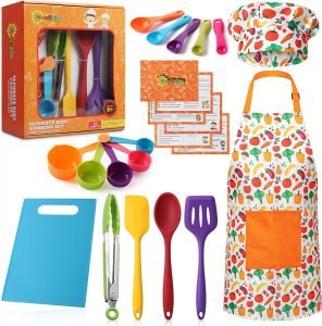 Risebrite Real Kids Baking And Cooking Set