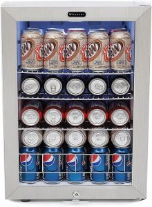 Whynter Stainless Steel Beverage Refrigerator