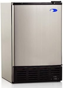 Whynter Uim 155 Stainless Steel Refrigerator With Built In Ice Maker