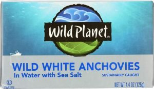 Wild Planet Wild Anchovies In Water With Sea Salt