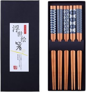 Antner Natural Bamboo Chopsticks