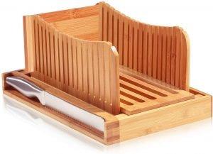 Bambusi Premium Bamboo Bread And Cake Slicer