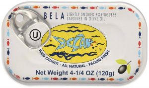 Bela Olhao Lightly Smoked Sardines