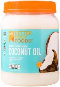Betterbody Foods Organic Coconut Oil