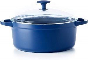 Blue Diamond Ceramic Dutch Oven