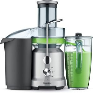 Breville Bje430sil Cold Centrifugal Juicer