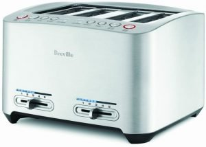 Breville Bta840xl 4 Slice Smart Power Toaster