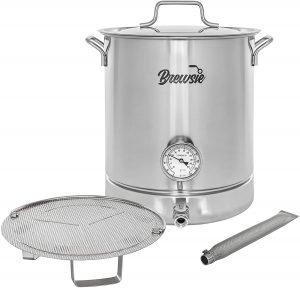 Brewsie Stainless Steel Home Brew Kettle Set