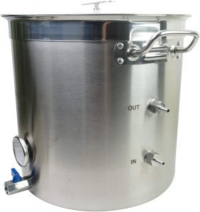 Bruman Boil And Chill Brew Kettle Set