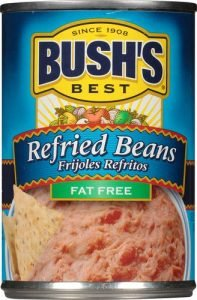 Bush's Canned Refried Beans