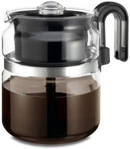 Café Brew Collection Stovetop Percolator Coffee Pot