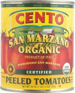 Cento San Marzano Organic Peeled Tomatoes