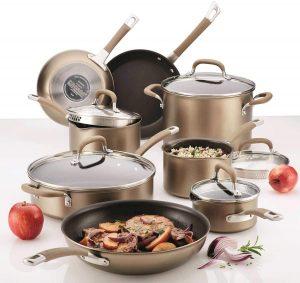 Circulon Premier Professional 13 Piece Hard Anodized Cookware Set