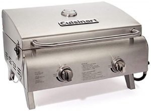 Cuisinart Cgg 306 Chef's Style Propane Tabletop Grill