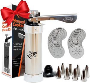 Edge Cook Spritz Press Gun Cookie Maker