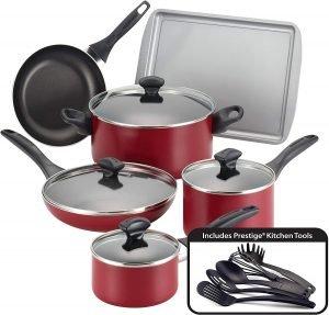 Faberware Safe Nonstick 15 Piece Cookware Set