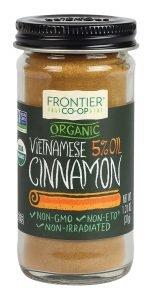 Frontier Organic Vietnamese Cinnamon