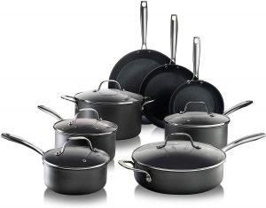 Granitestone Pro Hard Anodized 13 Piece Cookware Set