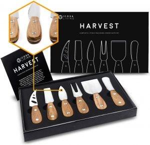 Harvest Premium 6 Piece Cheese Knife Set