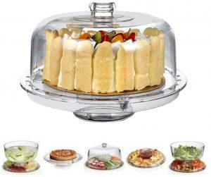 Hblife Multifunctional Acrylic Cake Stand