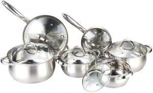 Heim Concept Cookware 12 Piece Set